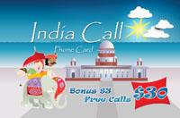India Call $30